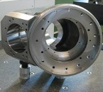 Spindle housing for birotary head